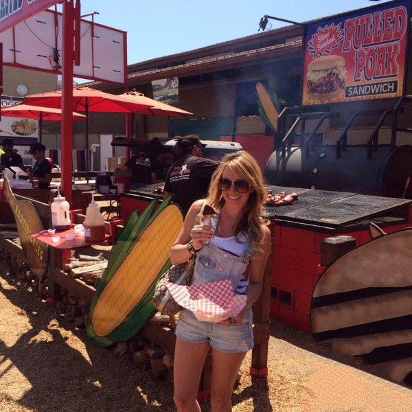 Whitney Bond at San Diego Fair