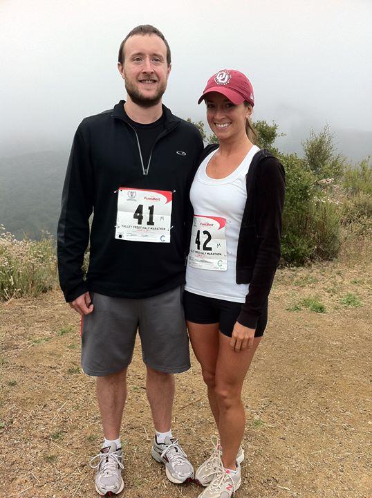 Whitney Bond Running Half Marathon in LA