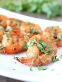 Chili Lime Garlic Grilled Shrimp