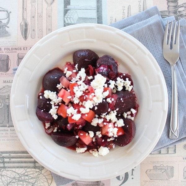 Caramelized Beet and Feta Salad