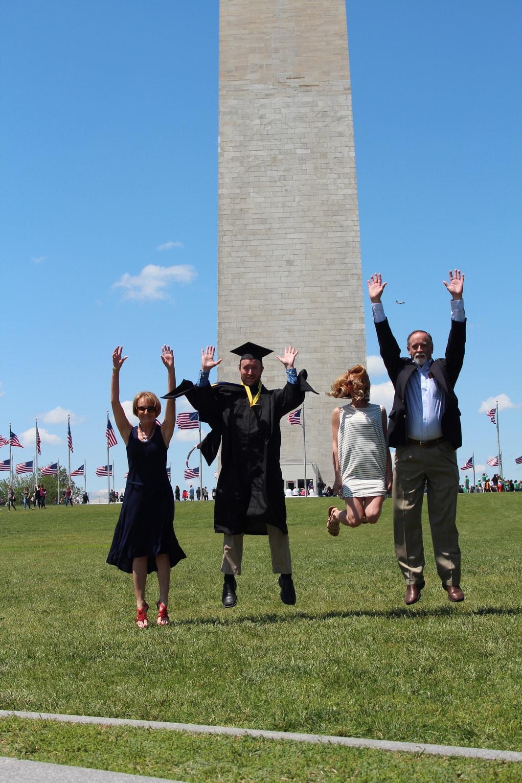 Bond Family in Washington DC