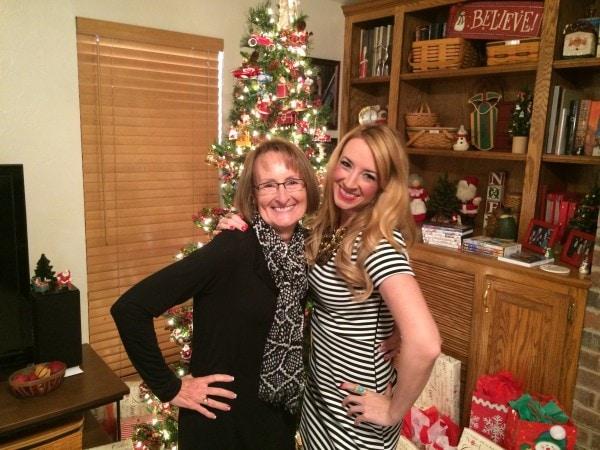 Whitney Bond with Mom, Muffet Bond, in Oklahoma