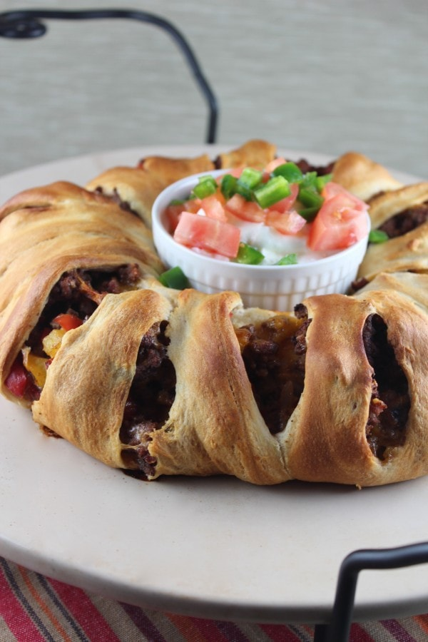 Southwest Taco Ring Recipe