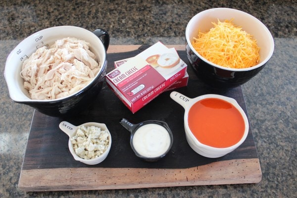 Buffalo Chicken Dip Ingredients
