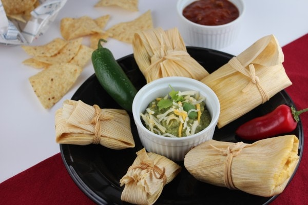 Homemade Chicken Tamales