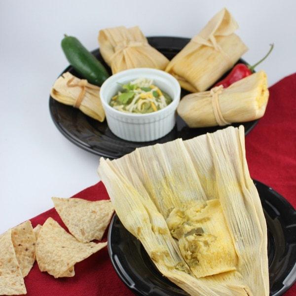 Gluten Free Vegetarian Tamales