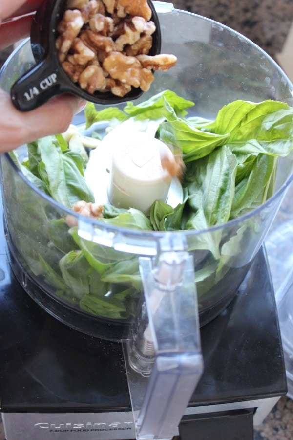 How to make Walnut Basil Pesto