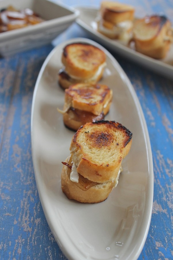 Caramelized Pear and Brie Grilled Cheese Recipe