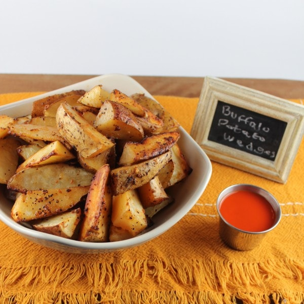 Buffalo Potato Wedges Recipe