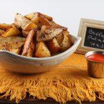 Buffalo Potato Wedges