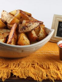 Buffalo Potato Wedges