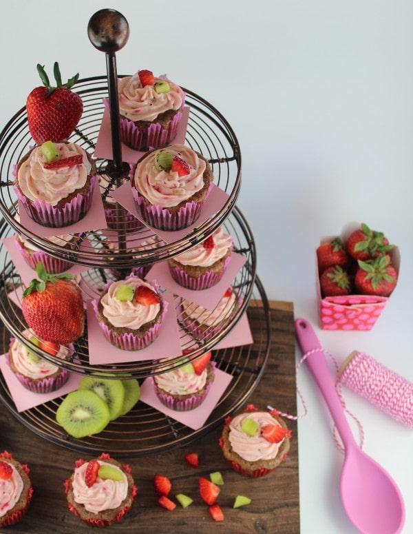 Spring Cupcake Tower