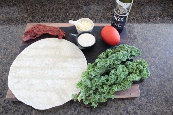 BLT Caesar Wrap Ingredients