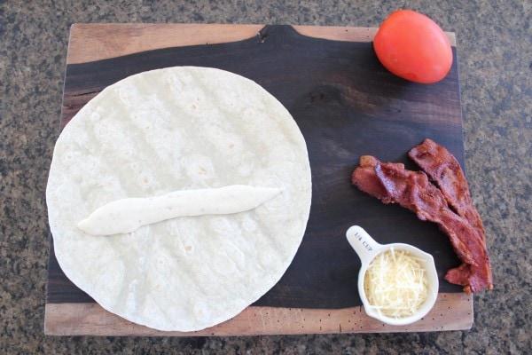 BLT Caesar Wrap Recipe