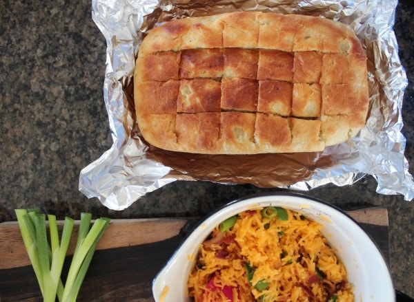 Loaded Baked Potato Bread Recipe