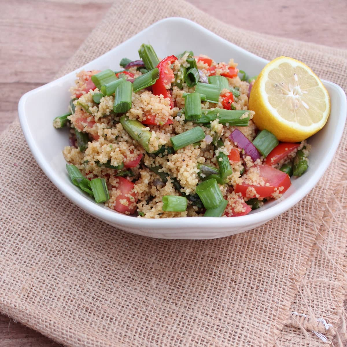 Couscous Asparagus Tabouli