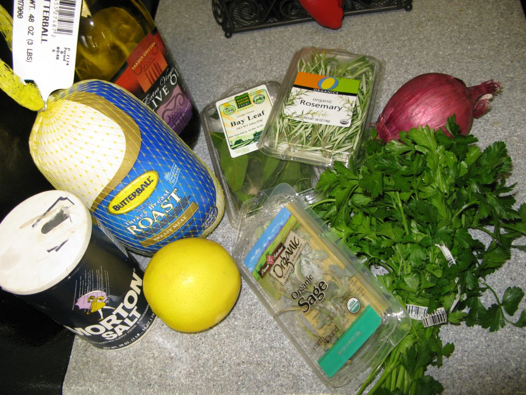 Herb Crusted Turkey Breast Ingredients