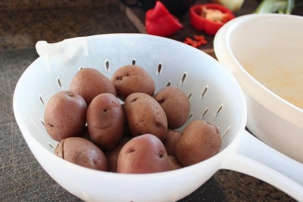 Boiled Red Potatoes