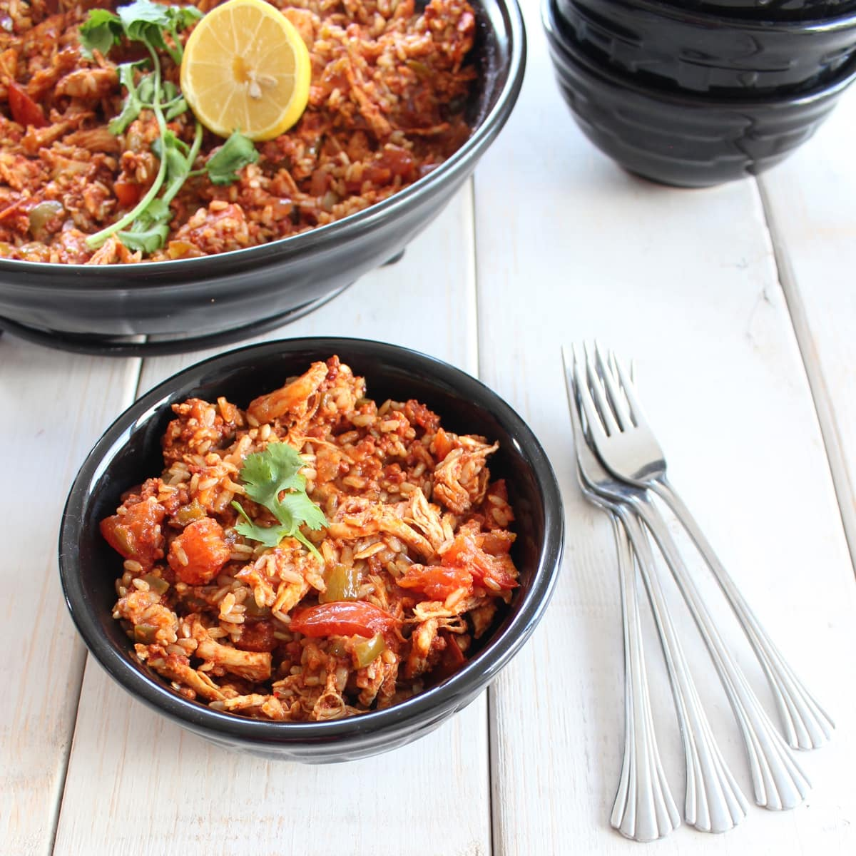 Spicy Chicken and Chorizo Paella
