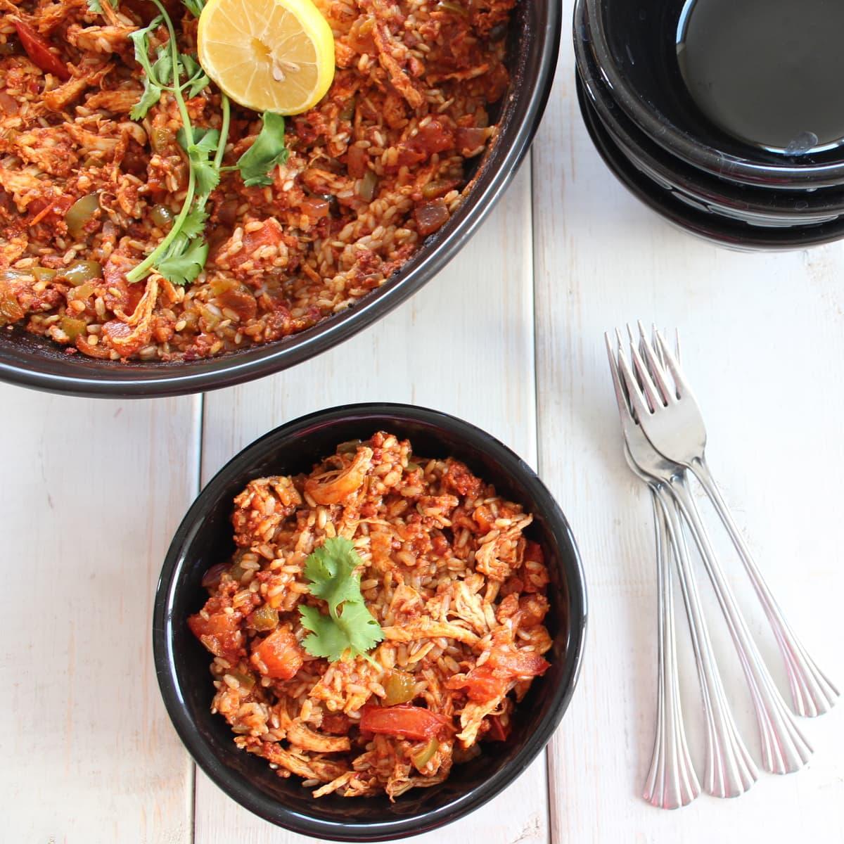 Spicy chicken chorizo paella forumfinder Images