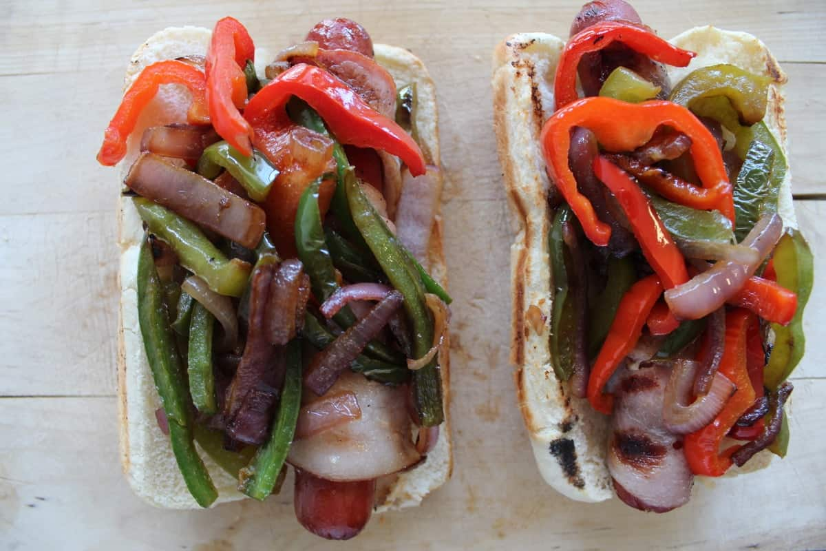 Bacon Wrapped Hot Dogs - Little Leopard Book