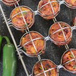 Mexican Chorizo Meatballs with Sweet Jalapeño Sauce