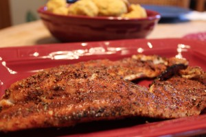 red snapper, blackened fish, grilled fish, blackening seasoning, cooking, recipe