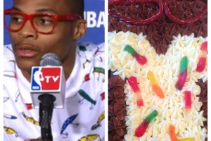 Russell Westbrook Birthday Cake