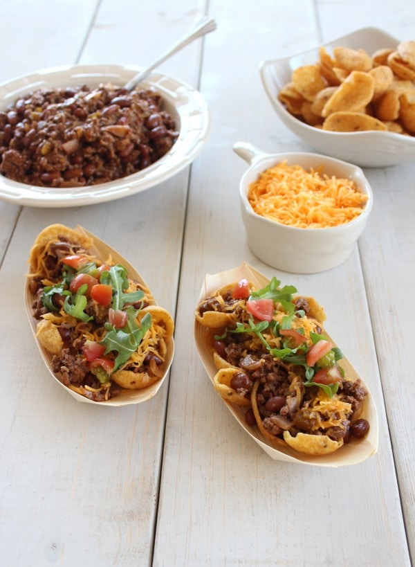 Spicy Frito Chili Pie Recipe
