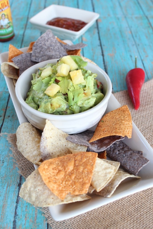 Pineapple Guacamole Recipe