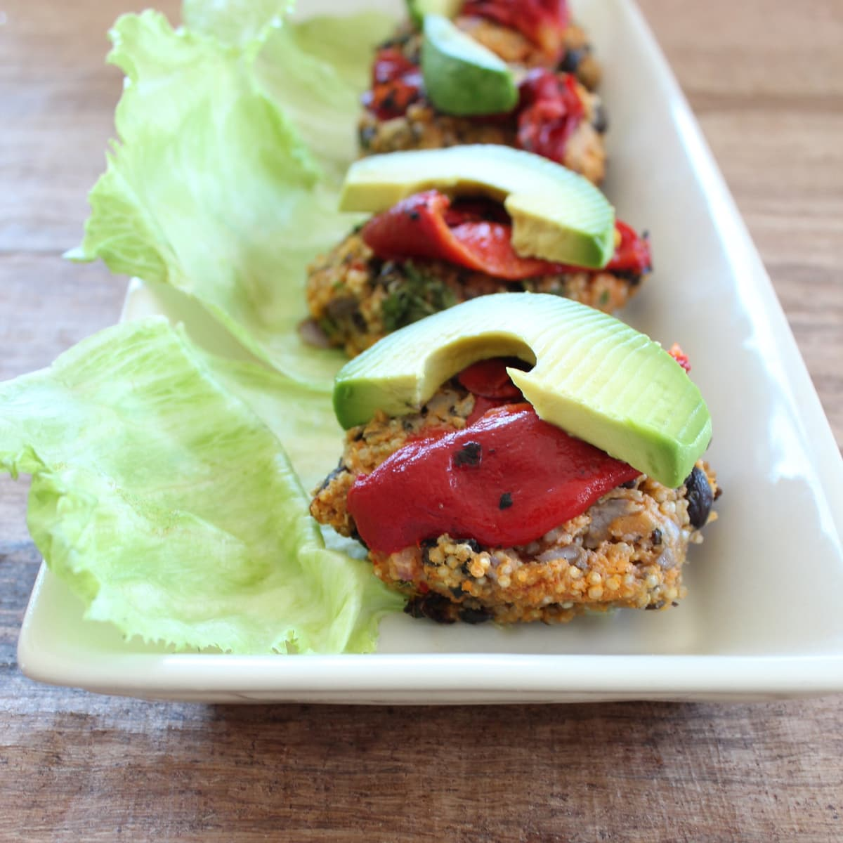 Black Bean Sweet Potato Quinoa Burgers