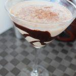 White Chocolate Wedding Cake Martini