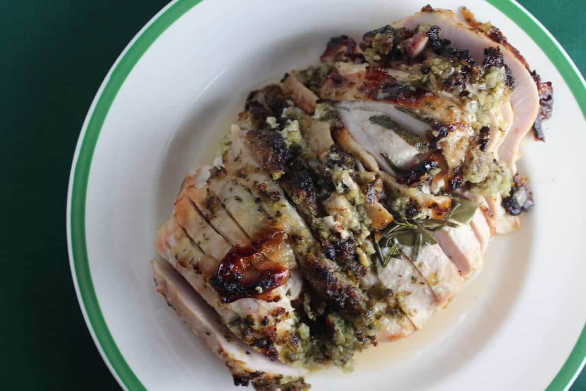 Herb Crusted Turkey Breast