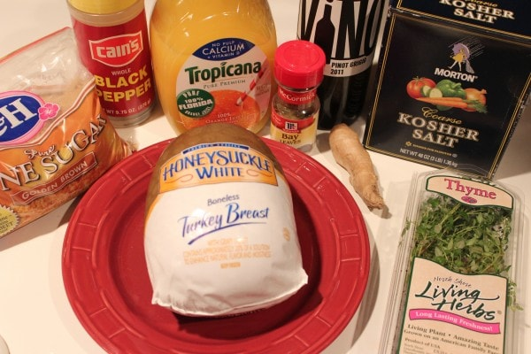 Turkey Breast Brining Ingredients