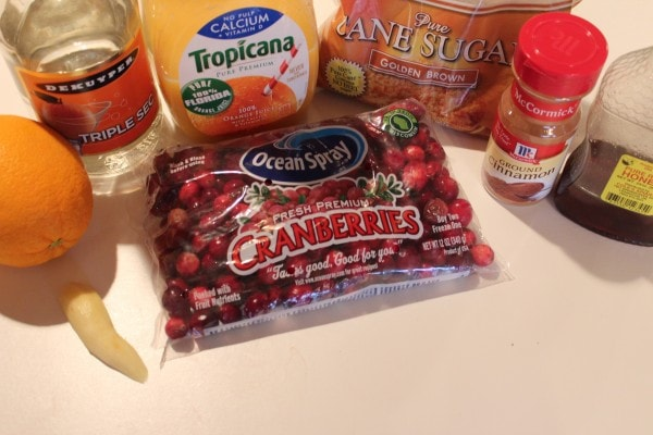 cranberries, orange juice, brown sugar, triple sec, ingredients, recipe