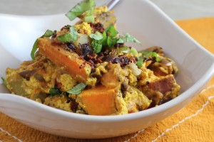 Indian Yellow Curry Casserole Recipe