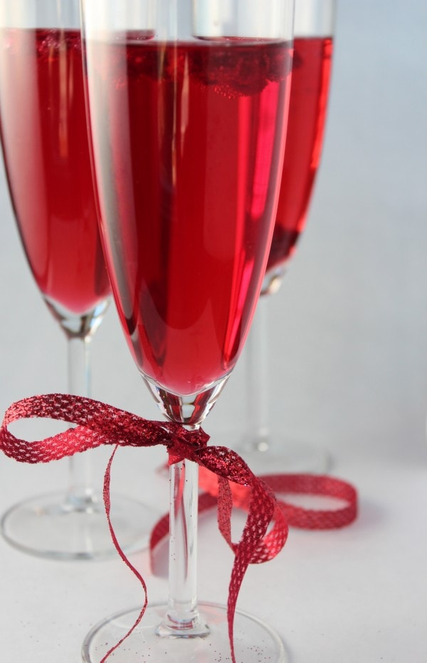 Pomegranate Wine Spritzer