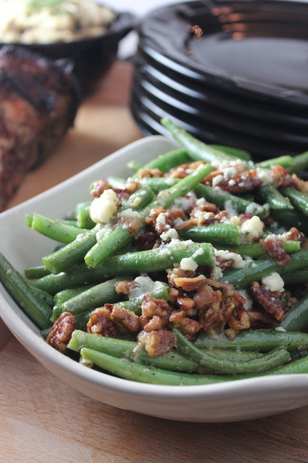 Bacon Pecan Green Beans