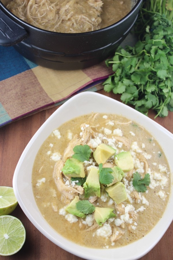 Paleo Chicken Enchilada Soup