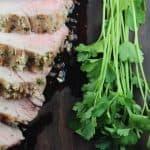 Italian Crusted Pork Tenderloin