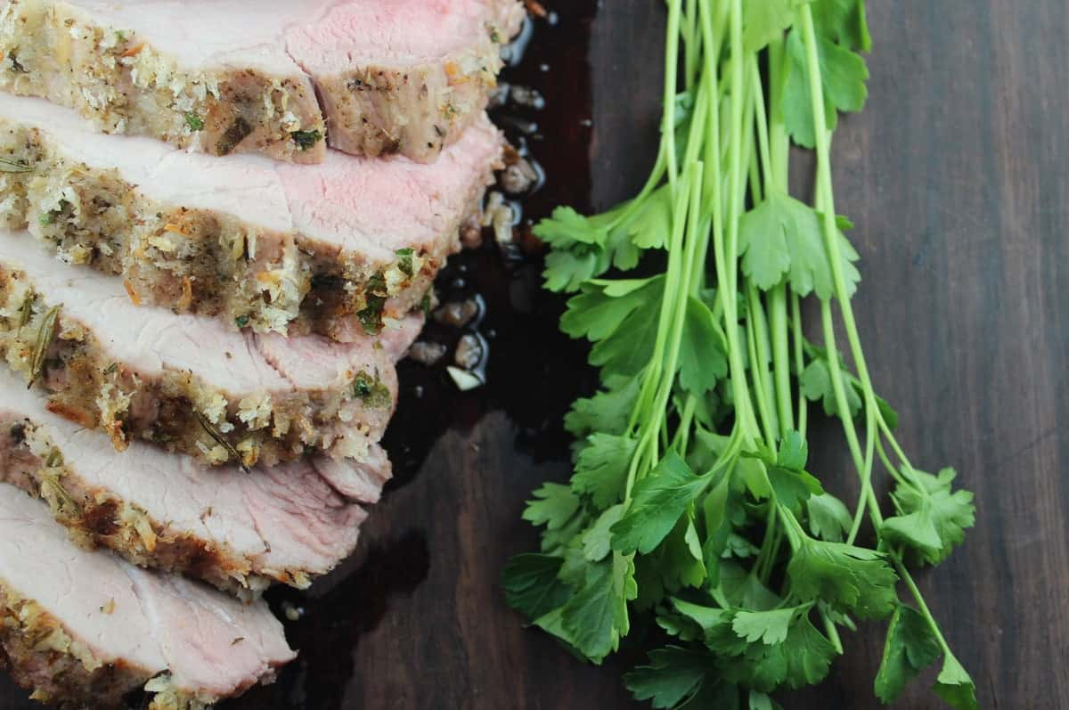 Italian Crusted Pork Tenderloin