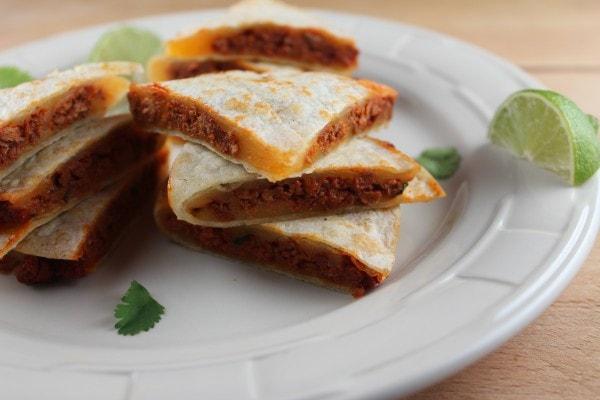 soy chorizo quesadillas, chorizo cheddar quesadillas, vegetarian quesadillas, gluten free quesadillas, soy chorizo cheddar quesadilla, vegetarian soy chorizo quesadillas, recipes, spicy soy chorizo quesadilla