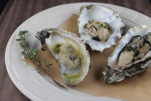 Grilled Oysters with Jalapeño Butter