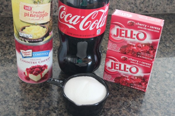 Cherry Coke Salad Ingredients