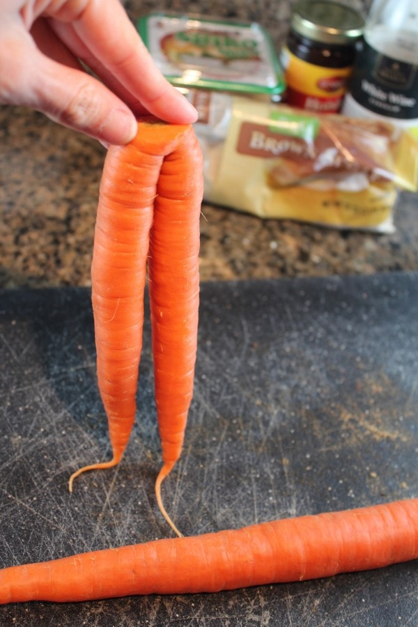 Funny Shaped Carrots