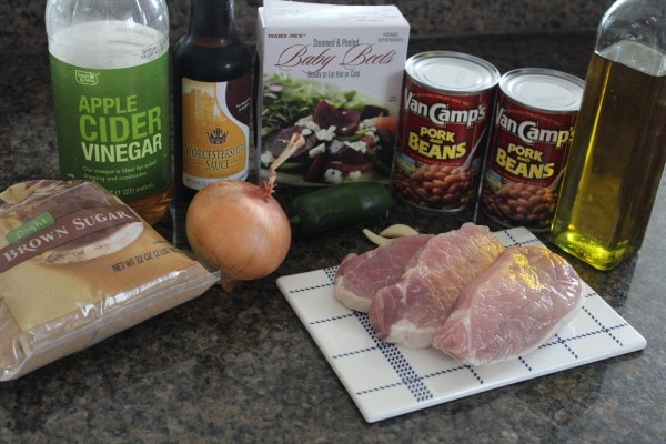 Pork Chop Chili Ingredients