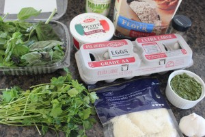 Three Cheese Basil Ravioli Ingredients