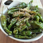 Shishito Peppers in Soy Ginger Sauce