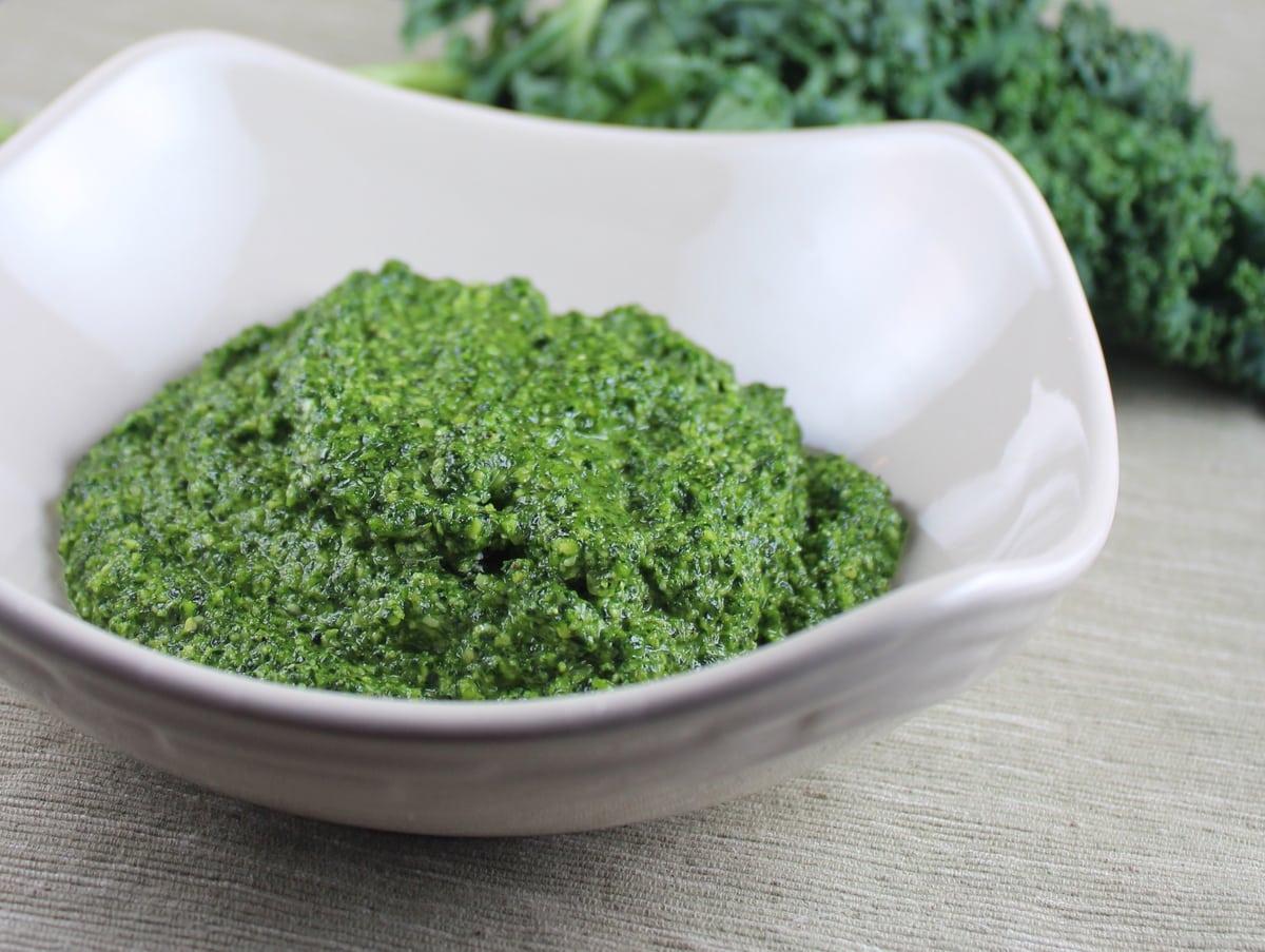 kale pesto, kale pesto recipe, gluten free kale pesto, kale pesto ...