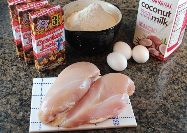 Cracker Jack Popcorn Chicken Ingredients